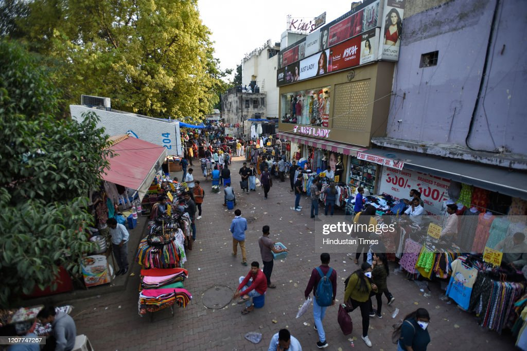 Covid-19: Popular Spots in Delhi-NCR Emptied Amid Coronavirus Fears : News Photo
