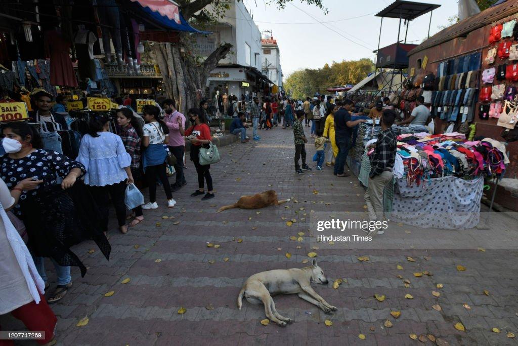 Covid-19: Popular Spots in Delhi-NCR Emptied Amid Coronavirus Fears : News Photo