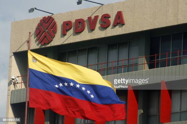 PDVSA reduced its exports by 32% in the first half of June this year compared to the figures achieved in May Photo taken on 22 June 2018 in Maracaibo...