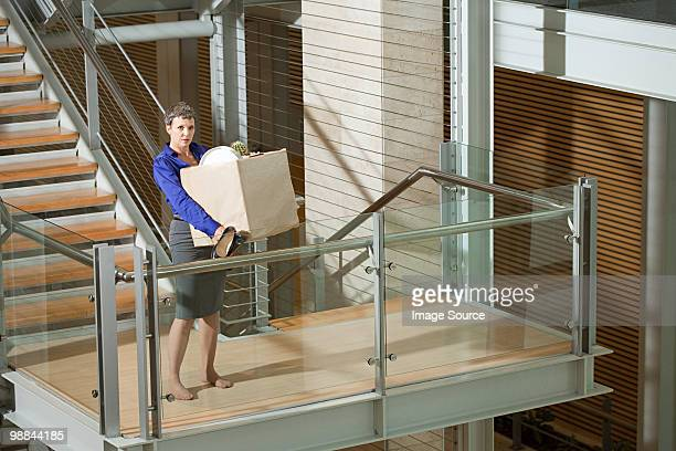Redundant businesswoman