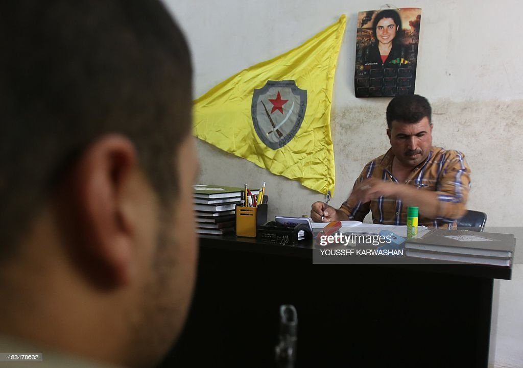 SYRIA-CONFLICT-GOVERNMENT-KURDS : News Photo