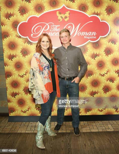 Ree Drummond and Bryce Drummond attend The Pioneer Woman Magazine Celebration with Ree Drummond at The Mason Jar on June 6, 2017 in New York City.