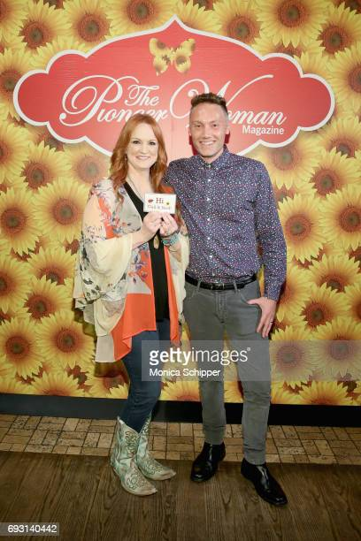 Ree Drummond and guest attend The Pioneer Woman Magazine Celebration with Ree Drummond at The Mason Jar on June 6, 2017 in New York City.
