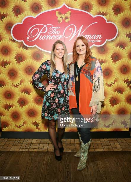 Ree Drummond and guest attends The Pioneer Woman Magazine Celebration with Ree Drummond at The Mason Jar on June 6, 2017 in New York City.