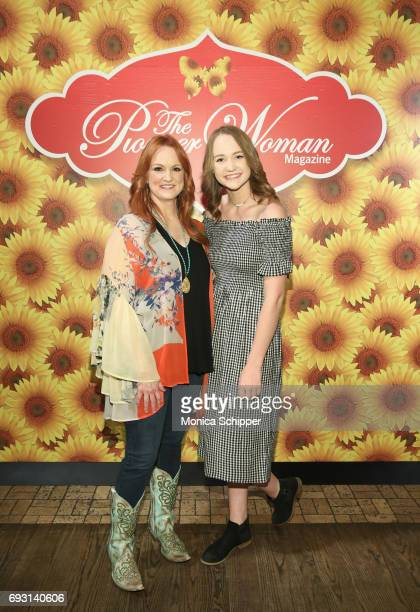 Ree Drummond and Paige Drummond attends The Pioneer Woman Magazine Celebration with Ree Drummond at The Mason Jar on June 6, 2017 in New York City.