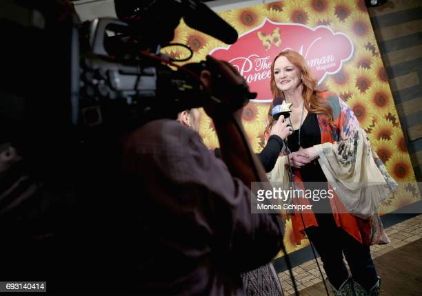 Ree Drummond is interviewed during The Pioneer Woman Magazine Celebration with Ree Drummond at The Mason Jar on June 6 2017 in New York City