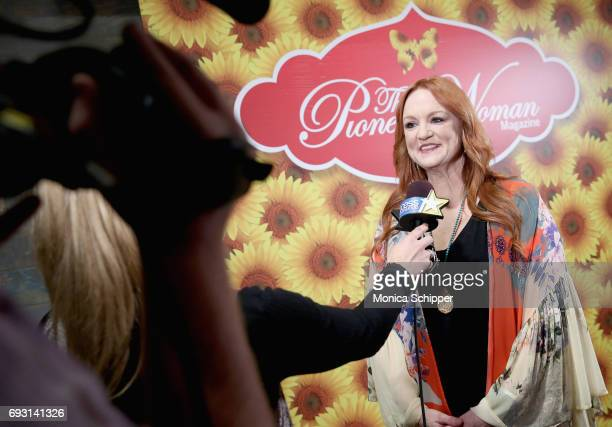 Ree Drummond is interviewed during The Pioneer Woman Magazine Celebration with Ree Drummond at The Mason Jar on June 6, 2017 in New York City.