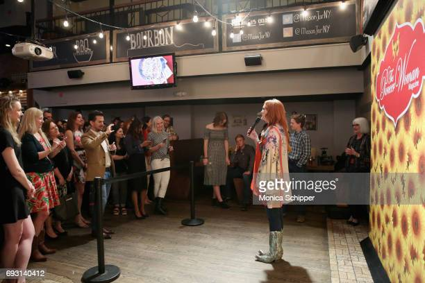 Ree Drummond speaks during The Pioneer Woman Magazine Celebration with Ree Drummond at The Mason Jar on June 6 2017 in New York City