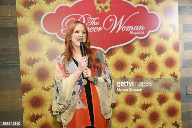 Ree Drummond speaks during The Pioneer Woman Magazine Celebration with Ree Drummond at The Mason Jar on June 6, 2017 in New York City.