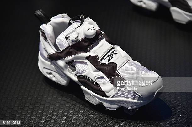 Reebok launches the new Instapump Fury Overbranded at Pop Up Shop in NYC on October 11 2016 in New York City