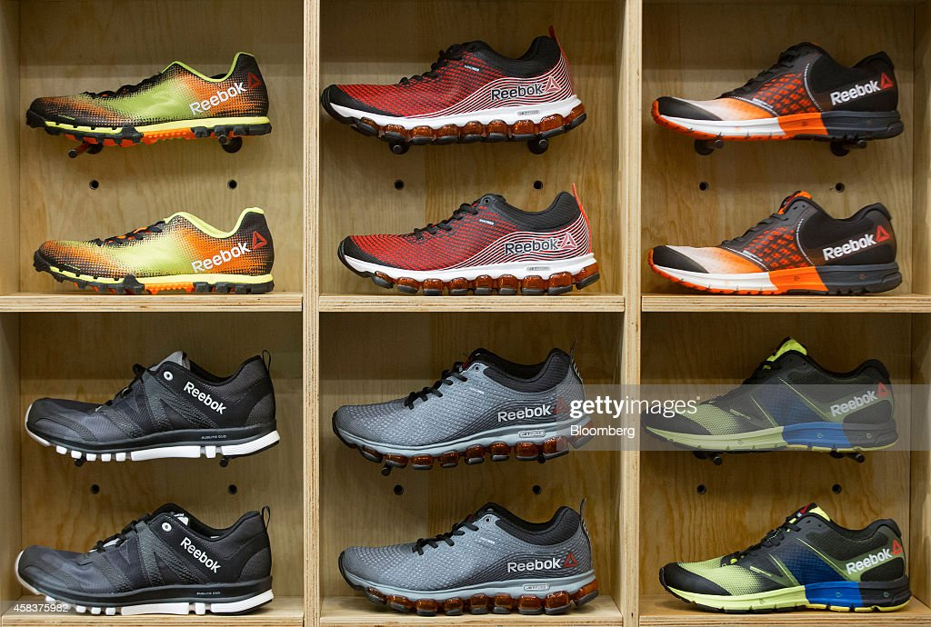 Reebok sneakers and running shoes, produced by Reebok, a unit of Adidas AG,