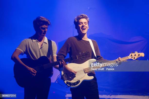 Reece Bibby from New Hope Club opens for The Vamps at La Cigale on May 18 2018 in Paris France