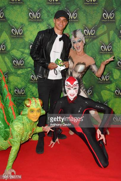 Reece Douglas attends the Cirque Du Soleil's OVO Premiere at The Liverpool Echo Arena on August 16 2018 in Liverpool England