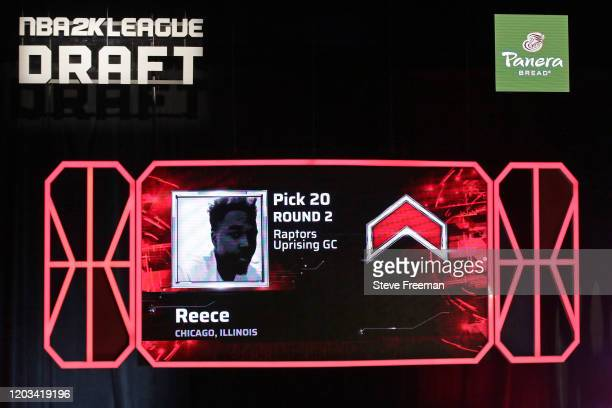 Reece gets picked during the NBA 2K League Draft on February 22 2020 at Terminal 5 in New York New York NOTE TO USER User expressly acknowledges and...
