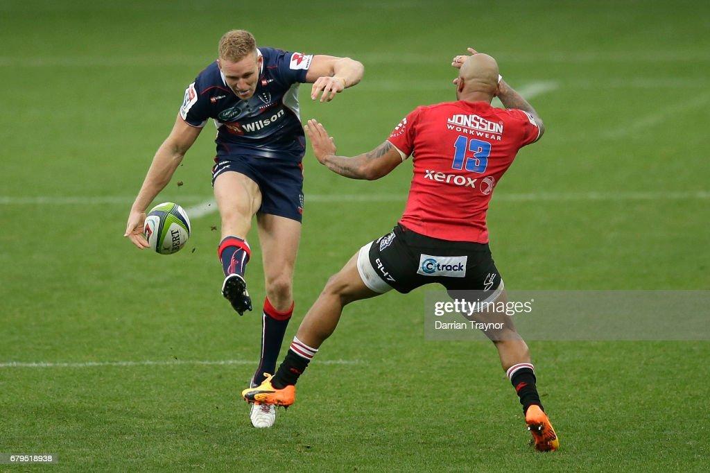 Super Rugby Rd 11 - Rebels v Lions : News Photo