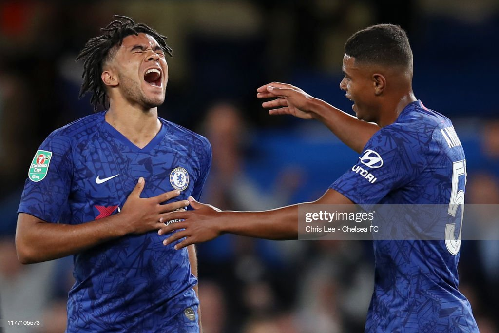 Chelsea FC v Grimsby Town - Carabao Cup Third Round : News Photo