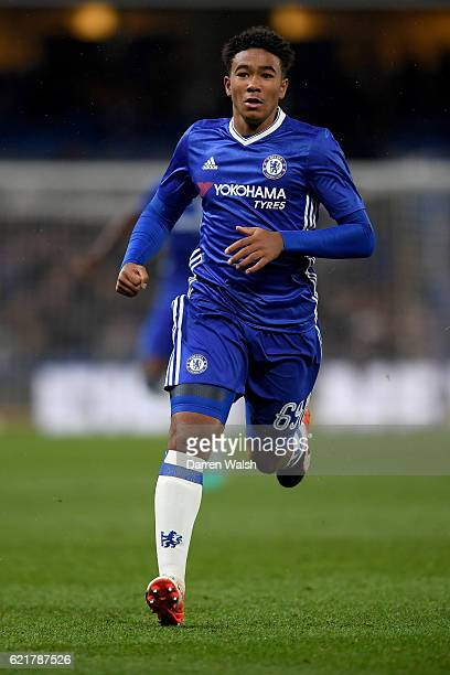 Reece James of Chelsea during a Checkatrade Trophy match between Chelsea and Oxford United at Stamford Bridge on November 8 2016 in London England