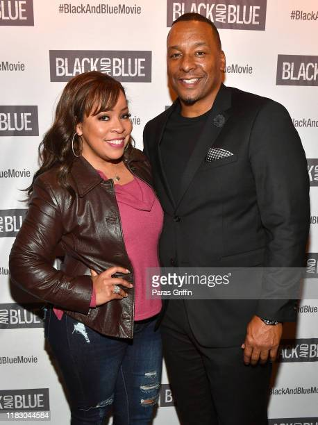 Reece Odum and Deon Taylor attend Black and Blue Atlanta special screening after party at Sweet Auburn BBQ on October 23 2019 in Atlanta Georgia