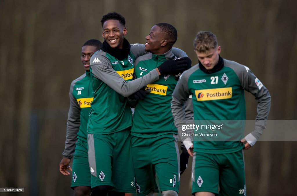 Borussia Moenchengladbach Training Session
