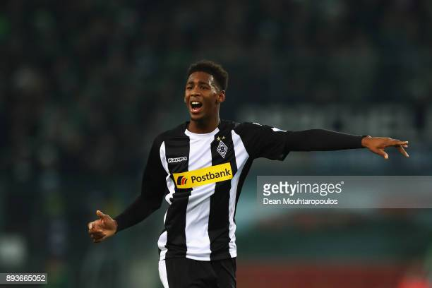Reece Oxford of Borussia Monchengladbach in action during the Bundesliga match between Borussia Moenchengladbach and Hamburger SV at BorussiaPark on...