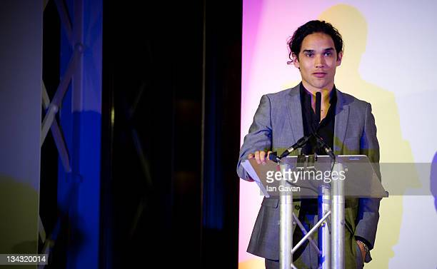 Reece Richie attends the 'Hidden Gems' Photography Gala Auction in support of Variety Club children's charity at St Pancras Renaissance Hotel on...