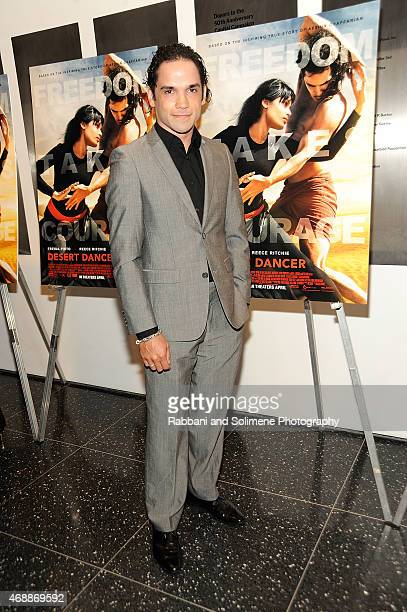 Reece Ritchie attends a special screening of Relativity Studio's 'Desert Dancer' at Museum of Modern Art on April 7 2015 in New York City