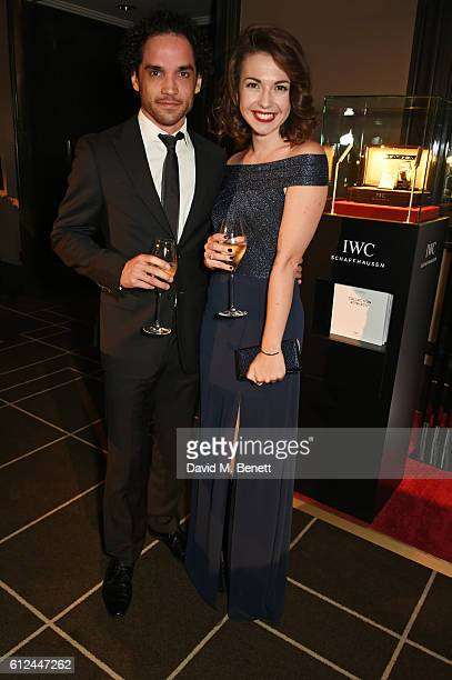 Reece Ritchie attends the IWC Schaffhausen Dinner in Honour of the BFI at Rosewood London on October 4 2016 in London England