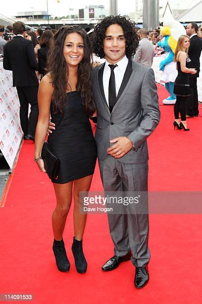 Reece Ritchie Michelle Keegan attends the National Movie Awards 2011 at Wembley arena on May 11 2011 in London England