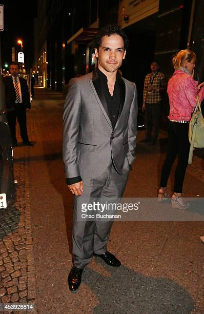 Reece Ritchie sighted at Borchardt restaurant on August 21 2014 in Berlin Germany