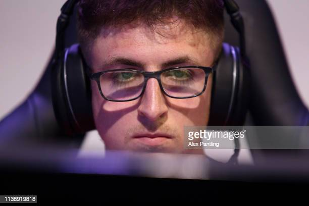 Reece 'Rusher7x' Rusher of Southampton during day one of the 2019 ePremier League Finals at Gfinity Arena on March 28 2019 in London England