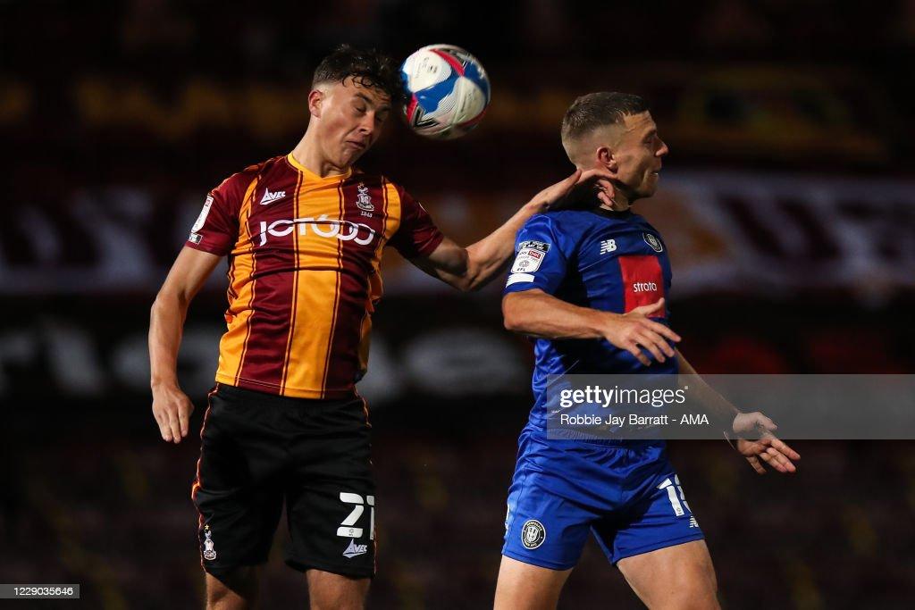 Bradford City v Harrogate Town - Sky Bet League Two : News Photo
