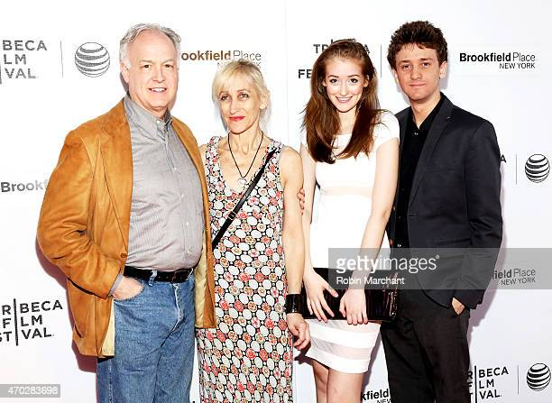 Reed Birney Connie Shulman Gus Birney and Ephraim Birney attend the premiere of Jackrabbit during the 2015 Tribeca Film Festival at Regal Battery...