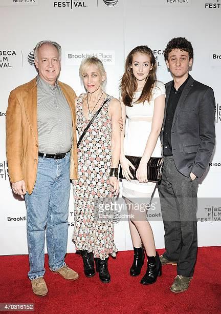 Reed Birney Constance Schulman Gus Birney and Ephraim Birney attend the 2015 Tribeca Film Festival World Premiere Narrative Jackrabbit at Regal...