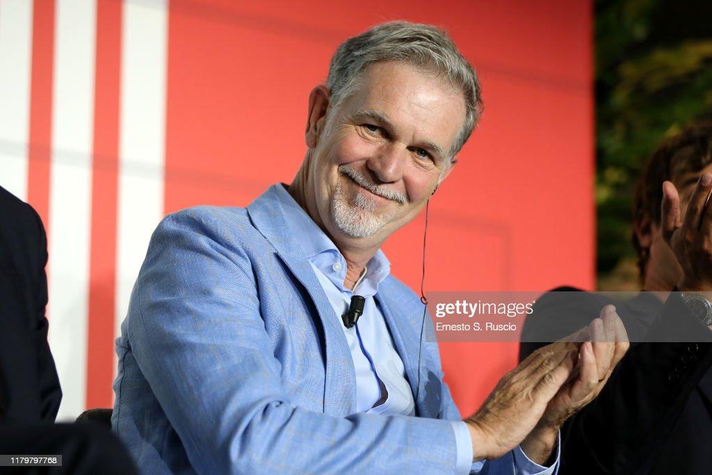 Netflix & Mediaset Partnership Announcement : News Photo