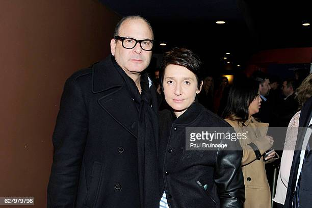 "Reed Krakoff and Delphine Krakoff attend the Paramount Pictures with Paramount Pictures with The Cinema Society & Svedka Host a Screening of ""Office..."