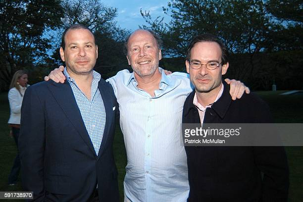 Reed Krakoff Frankford and Rodney Prauge attend Reed and Delphine Krakoff host cocktails to kick off the Parrish Art Museum Midsummer Gala Benefit at...