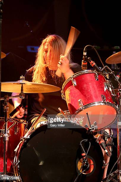 Reed Mullin of Corrosion of Conformity performs in concert at the Austin Music Hall on October 28 2015 in Austin Texas