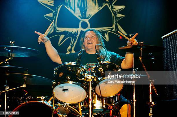 Reed Mullin of Corrosion Of Conformity performs on stage at the Corporation on April 29 2011 in Sheffield United Kingdom