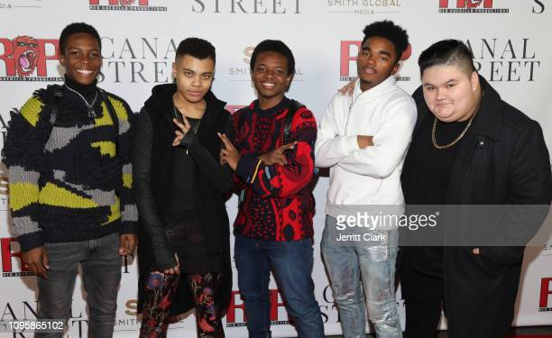 Reed Shannon Jovan Armand and Guests attend Smith Global Media's World Premiere Of Canal Street at ArcLight Hollywood on January 17 2019 in Hollywood...