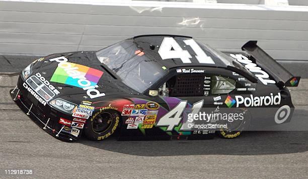 Reed Sorenson drives his Nextel Sprint Cup car during qualifying for the Coke Zero 400 at Daytona International Speedway in Daytona Beach, Florida,...