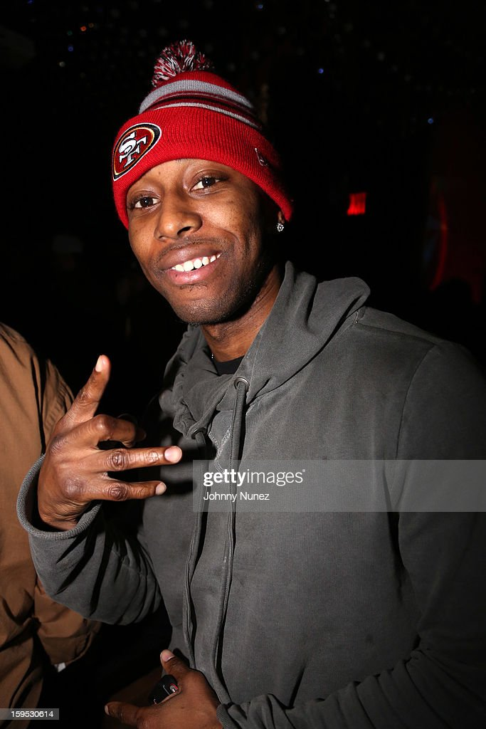 Reek Da Villian attends Raekwon's birthday party at Greenhouse on January 14, 2013 in New York City.
