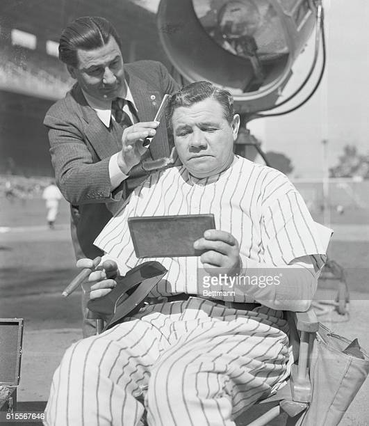 Reel life with the Sultan of SwatWith a big black cigar in his hand and a $25000 check in his pocket Babe Ruth former home run king doesn't mind the...