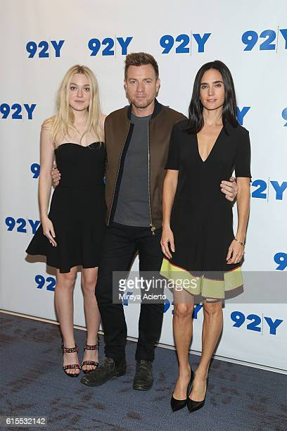 Dakota Fanning Ewan McGregor Jennifer Connolly 'American Pastoral' at 92nd Street Y on October 18 2016 in New York City