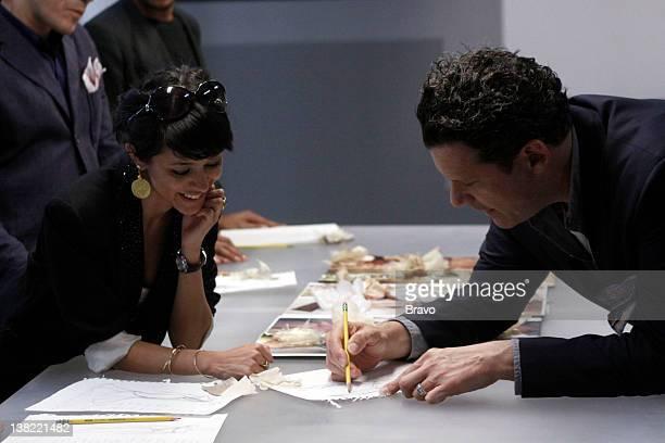 COLLECTION 'Reel to Genteel' Episode 205 Pictured Contestant Golnessa Farmanara cohost Isaac Mizrahi