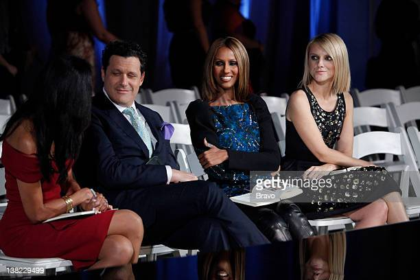 "Reel to Genteel"" Episode 205 -- Pictured: Judges Susan Fales-Hill, Isaac Mizrahi, Iman, Laura Brown"