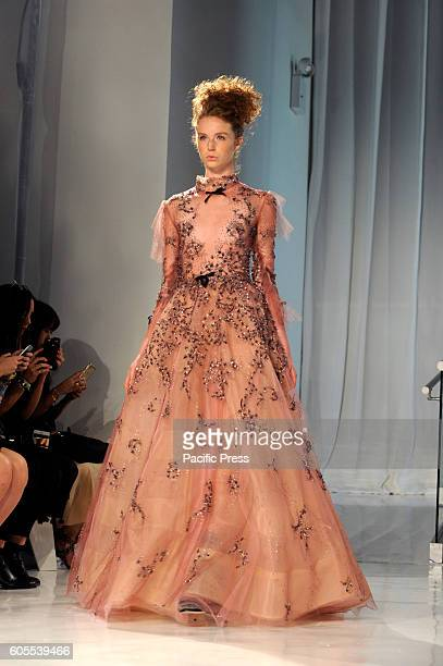 Reem Acra present her SpringSummer 2017 collections as part of the New York Fashion Week in Manhattan