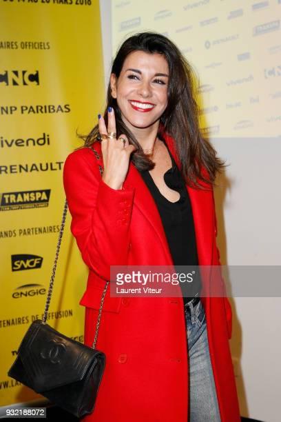 Reem Kherici attends 'la Fete du Court Metrage' on March 14 2018 in Paris France