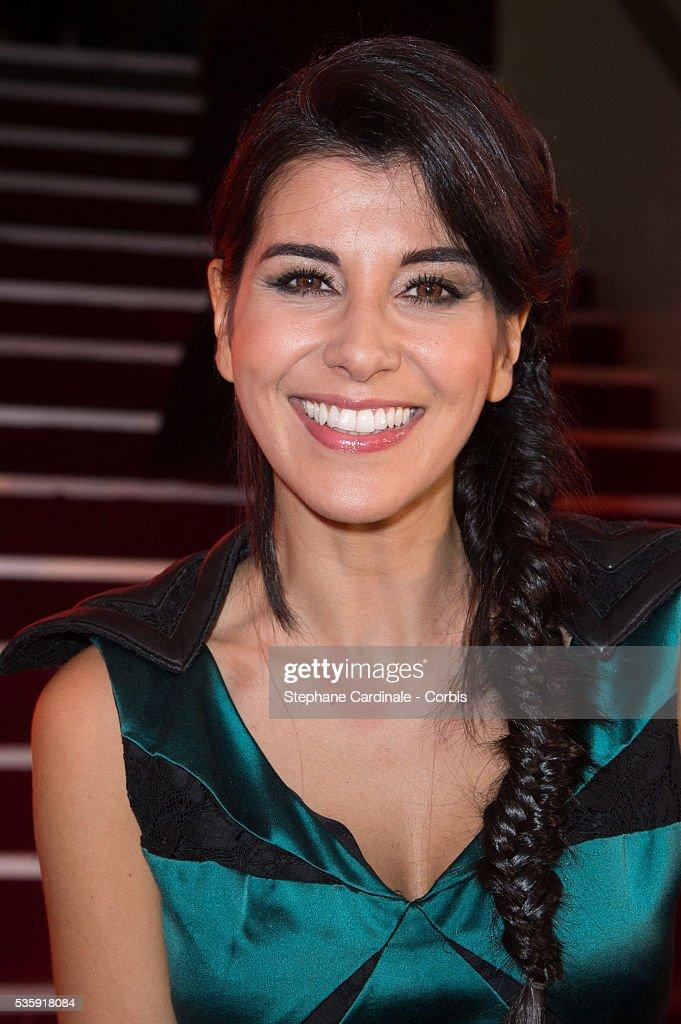 Reem Kherici attends 'Les Prix Lumieres 2014' Cinema Awards, in Paris.