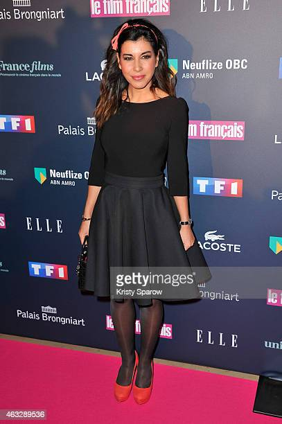 Reem Kherici attends the 'Trophees Du Film Francais' 22nd annual ceremony at Palais Brongniart on February 12 2015 in Paris France