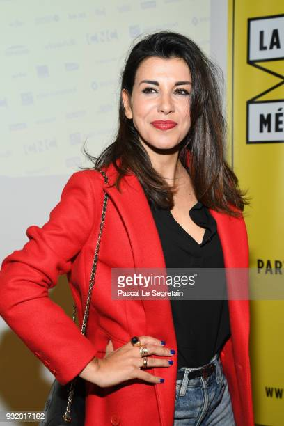 Reem Kherici poses at 'La Fete Du Cour Metrage' Photocall on March 14 2018 in Paris France